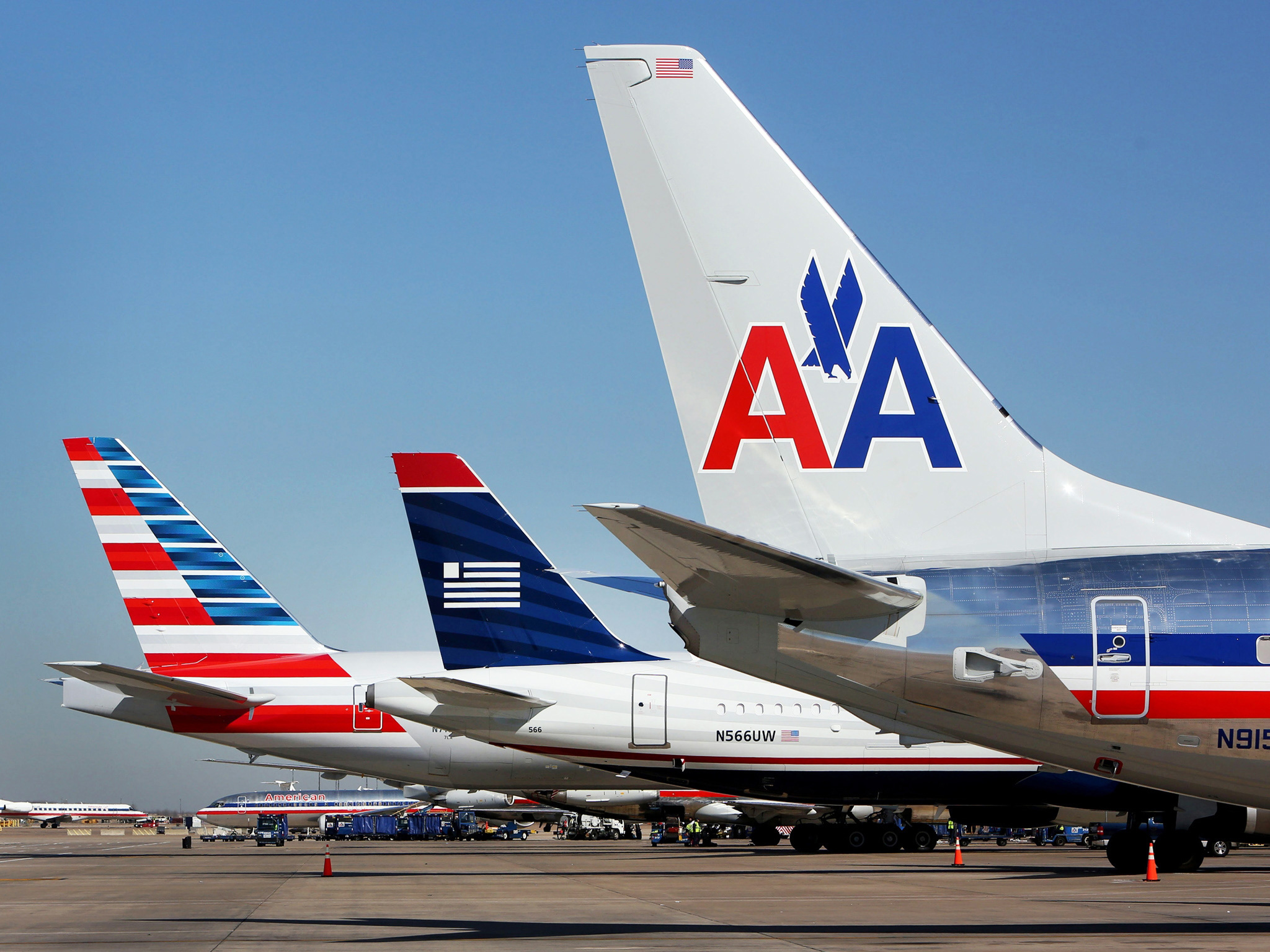 Авиаперевозки грузов США